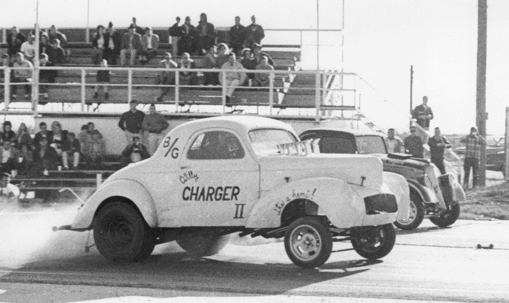 Willys hot rod drag cars