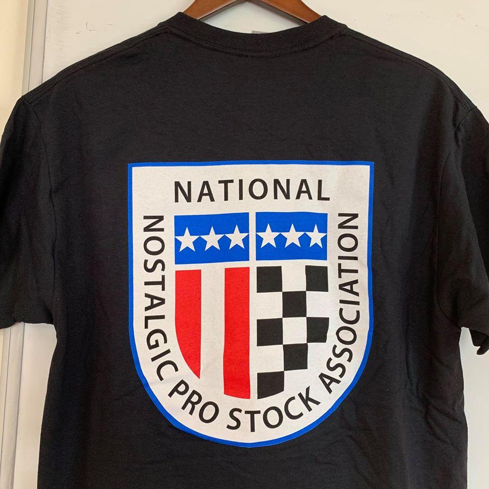 Nostalgia Pro Stock drag racing shirt