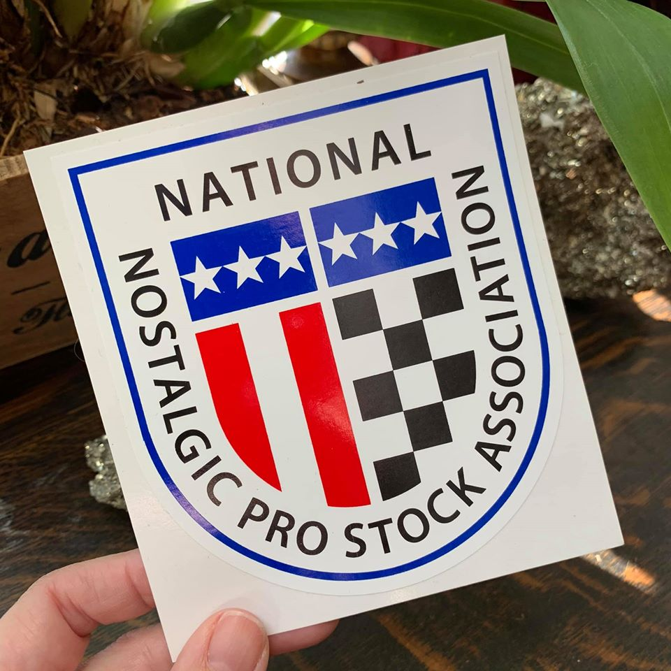National Nostalgia Pro Stock Association sticker