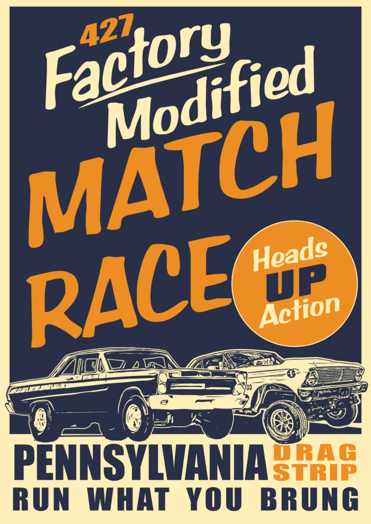 Match Bash Drag Racing Advert