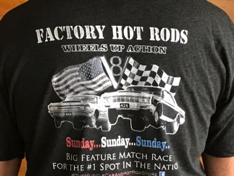 Vintage drag racing t shirts