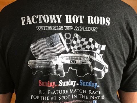Vintage drag racing t shirts
