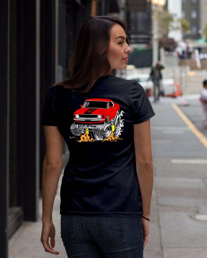 old school drag racing t shirts