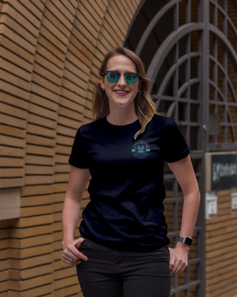 Women's custom drag racing shirts