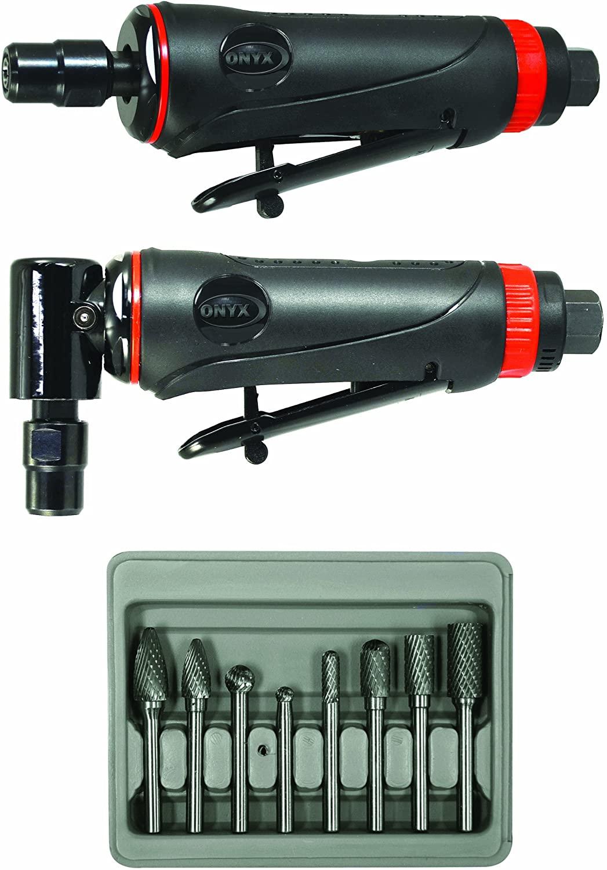 Die grinder and cylinder head porting kit