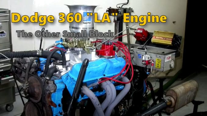 Dodge-360-LA-V8-Engine