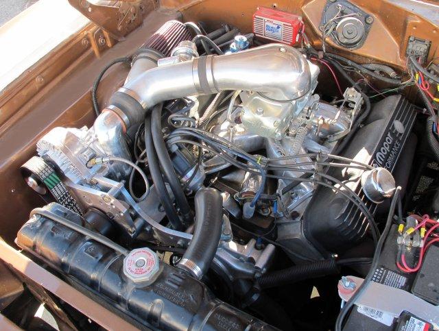440 Mopar supercharger kit