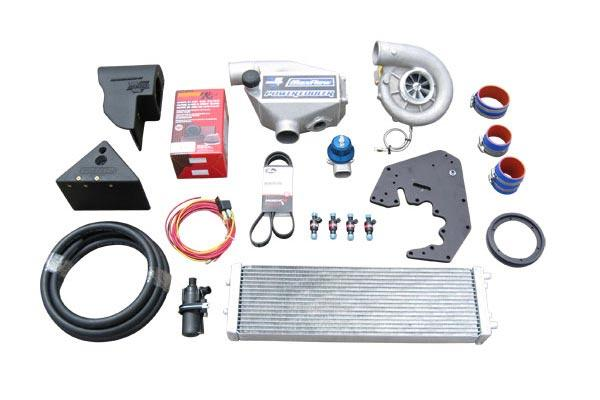 Centrifugal supercharger kit