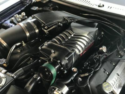 Twin screw superchargers